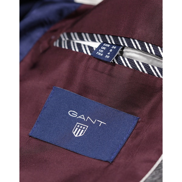 Gant O1 Wool Twill W/O Patches Blazer
