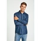 Jack Wills Malbrook Denim Herren Hemd