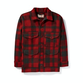 Filson Mackinaw Cruiser Men's Jacket - Red Black