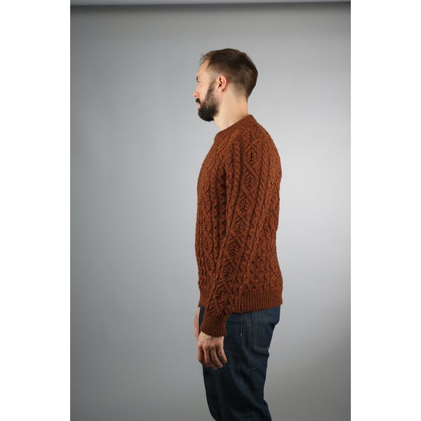 Peregrine Made In England Hudson Aran Sweater