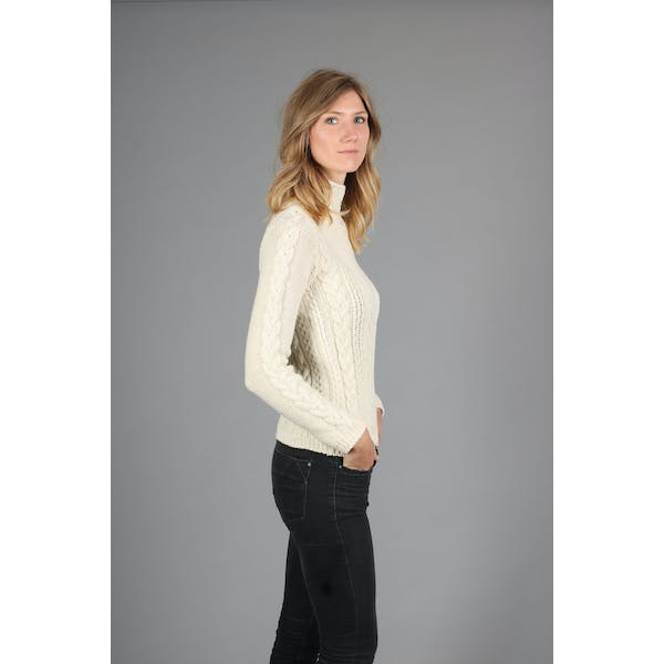 Peregrine Funnel Neck Dame Knits