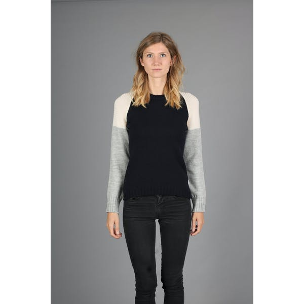 Peregrine Made in England Carlton Contrast Women's Sweater
