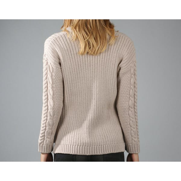 Peregrine Fisherman Dame Sweater