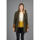 Wax Jacket Donna Peregrine Made In England Heather