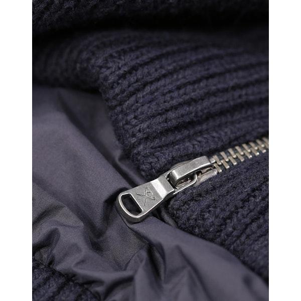 Hackett Knit Down Jacket
