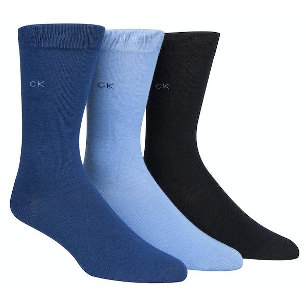 Calvin Klein 3 Pack Maddox Giftbox Socks