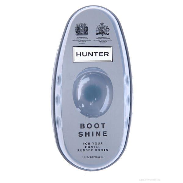 Hunter Boot Shine Reinigung