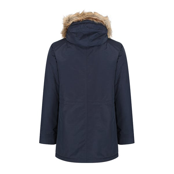 Lyle & Scott Microfleece Lined Parka With Removable Fur Jacket