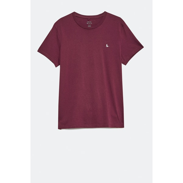 T-Shirt de Manga Curta Jack Wills Sandleford