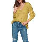 Free People Crashing Waves Pullover Dame Knits