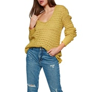 Free People Crashing Waves Pullover Womens Knits