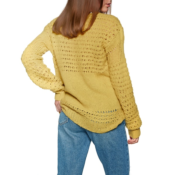 Free People Crashing Waves Pullover Kvinner Knits