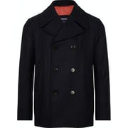 Tommy Hilfiger Short Wool Peacoat Jas
