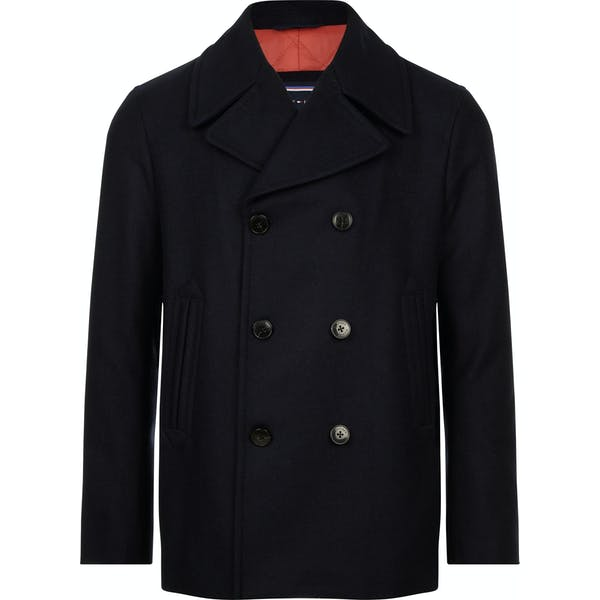Tommy Hilfiger Short Wool Peacoat Jacket
