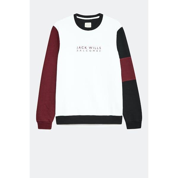 Sudadera Jack Wills Etitude Colour Block Sweat Shirt