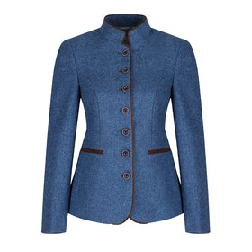 Country Attire Carlotta Damen Jacke - Blue