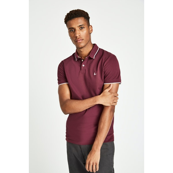 Jack Wills Edgeware Tipped Poloshirt