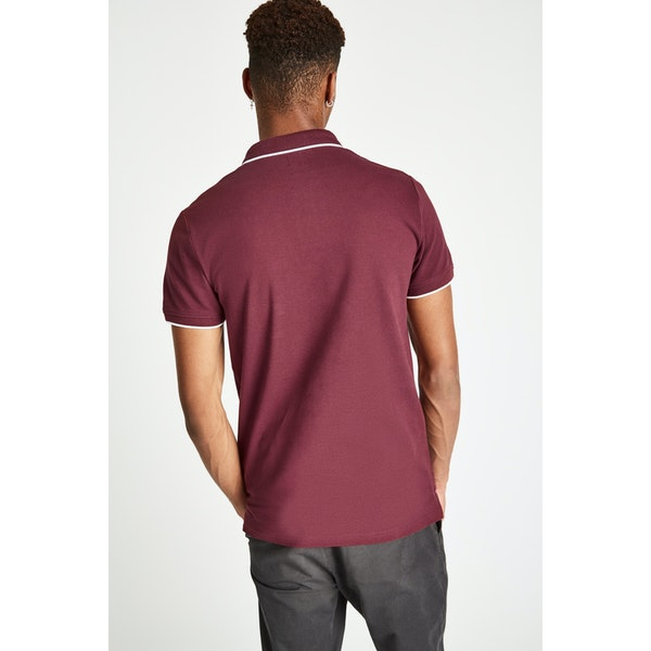 Jack Wills Edgeware Tipped Polo Shirt