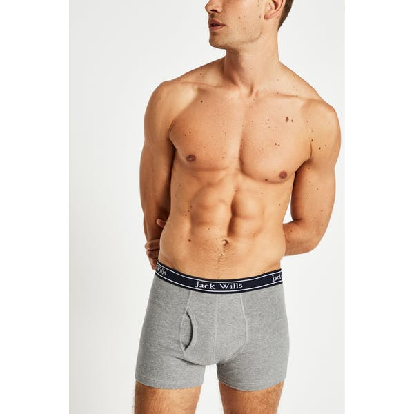 Jack Wills Chetwood Classic Tipped Boxers Boxer Shorts