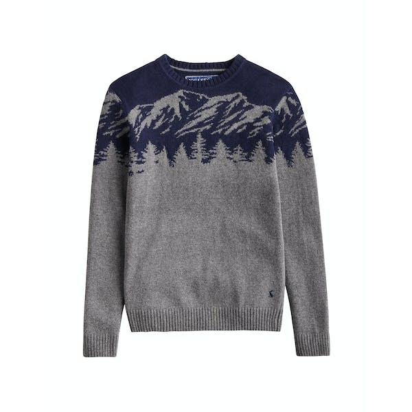 Joules Treetop Intarsia Men's Sweater