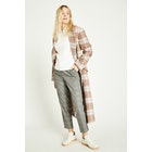 Jack Wills Blythe Long Checked Robe , Jacka Dam