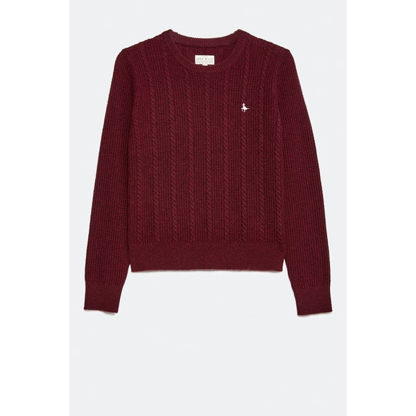 Sweater Senhora Jack Wills Tinsbury Cable Crew