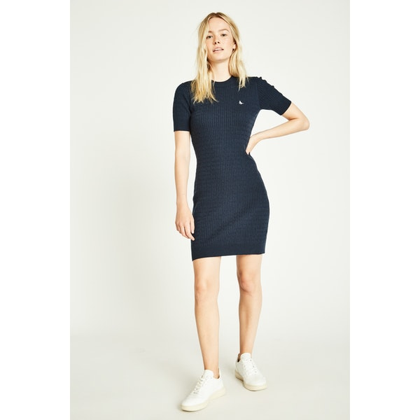 Vestido Jack Wills Danesfort Cable Knit