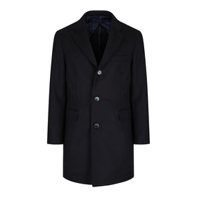 Hackett Wool Cashmere Men's Jacket - Navy
