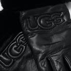 UGG Classic Leather Logo Damen Handschuhe