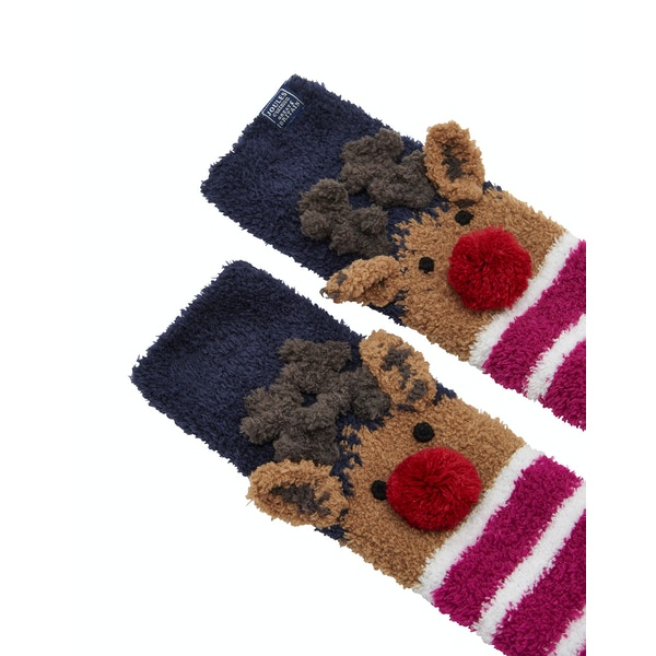 Joules Festive Mug and Socks Women's Gift Set