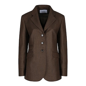 Country Attire Monica Blazer - Brown