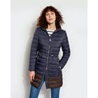 Joules Heathcote Mid Length Hooded Puffa Dames Jas