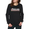 Sweater Senhora Volcom Sound Check Fleece - Black