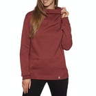 Volcom Walk On By High Neck Ladies Pullover Hoody