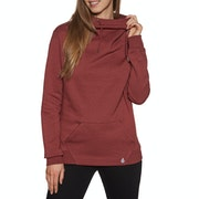 Volcom Walk On By High Neck Womens Pullover Hoody