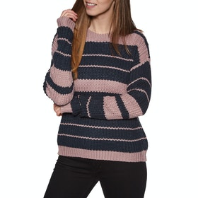 Knits Mujer Volcom Move On Up Sweater - Faded Mauve