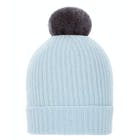 Troy London Pom Pom Damen Beanie