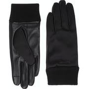 Guantes Mujer Calvin Klein Satin & Leather