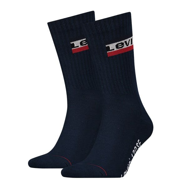 Levi's 2 Pack 120sf Regular Cut Sportwear Socks