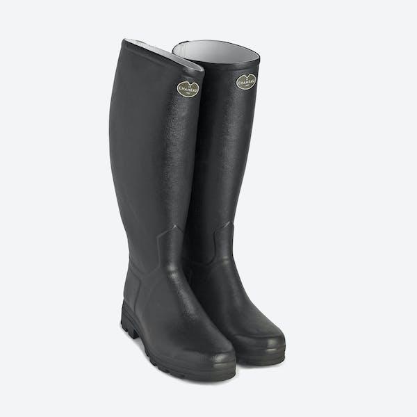 Le Chameau St Hubert 42 Calf Width Wellington Boots