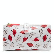 Lulu Guinness Beauty Spot Dbl Make Up Women's Wash Bag