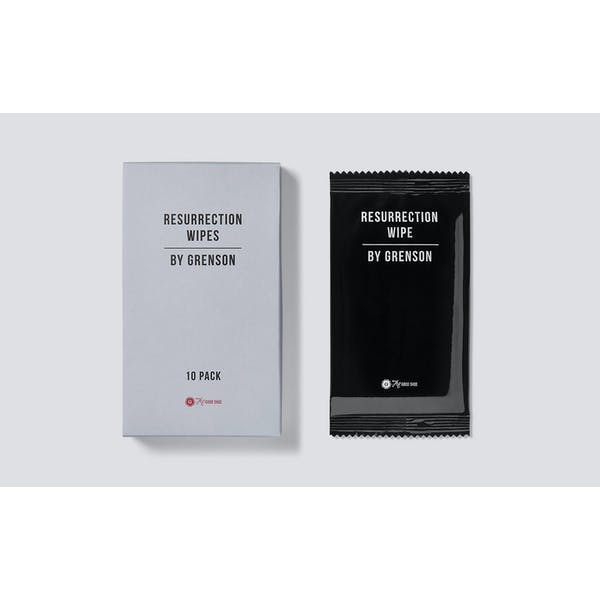 Grenson Ressurection Wipes Cleaning
