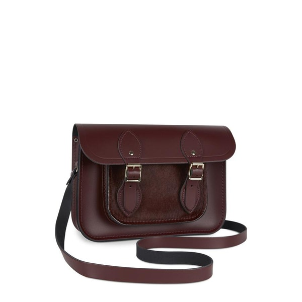 The Cambridge Satchel Company 11 inch with Magnetic Closure Women's Handbag