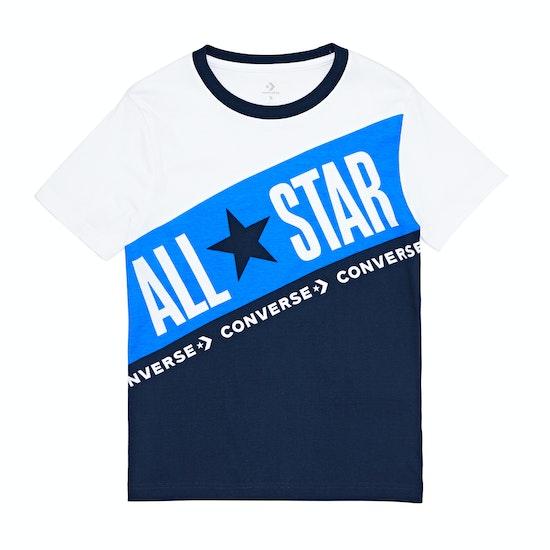 Converse All Star Blocked Kids Short Sleeve T-Shirt