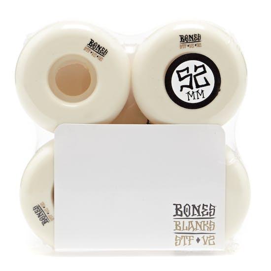 Bones Stf Blanks V2 52mm Skateboard Wheel
