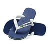 Havaianas Brasil Logo Kids Sandals - Marine Blue