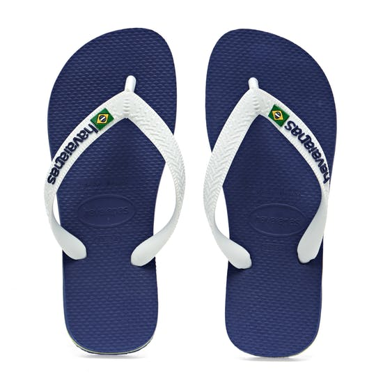 Havaianas Brasil Logo Kids Sandals