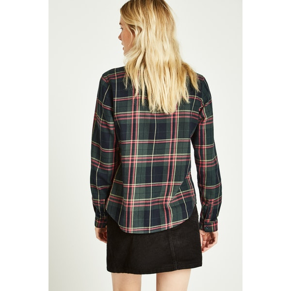 Jack Wills Homefore Classic Check Damen Hemd