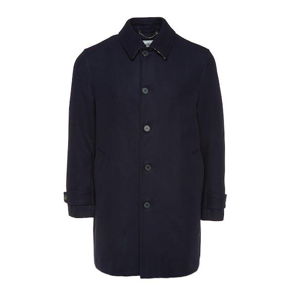 special sales wide varieties on wholesale Aquascutum Maxwell Heritage Wool Overcoat Jacket - Navy ...