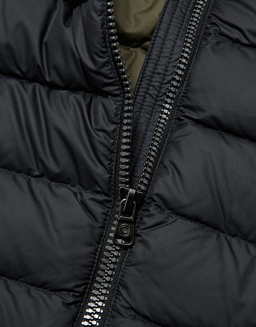 Colmar Hip Hop Removable Hood Herren Daunenjacke Black
